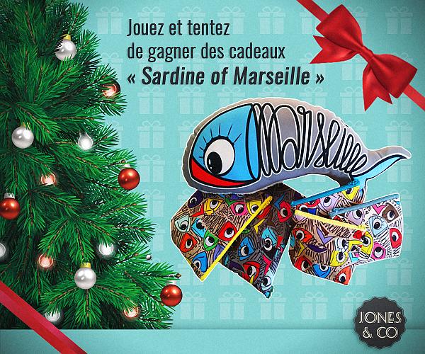 """Jeu Concours Facebook """"Sardine of Marseille"""""""